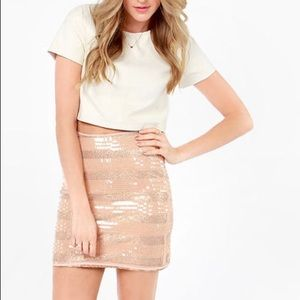 "High waist cocktail skirt ""mink pink"" XS"